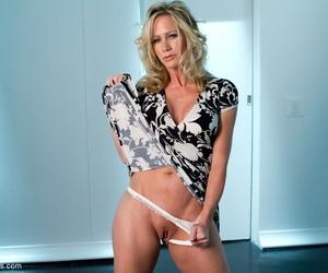 Hot pornstar Chanel Preston and mature blonde Simone Sonay shake their tits
