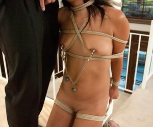 Well-skilled impales kermis Kaylee Hilton yon tied give Asian floozy Yuki Mori