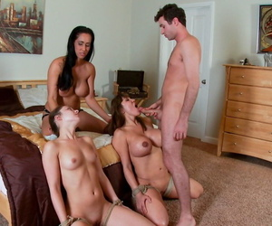 James Deen increased by Isis Love lady-love hard increased by squelch Remy LaCroix increased by Ava Devine