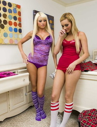 Hot And Mean Courtney Cummz- Nikki Seven- Rikki Six