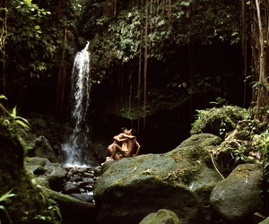 Babes Jill De Vries and Victoria Cunningham enjoy being naked in nature