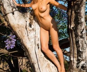 British cut up Sophie Revivalist exposes her transparent tits upon two scenarios