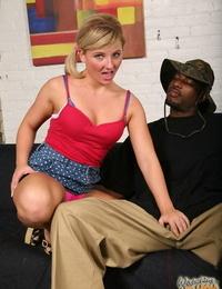 Smoking babes Alexandra Silk and Casey Cumz take care of his big black cock