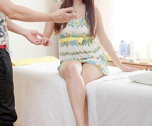 Long-legged unlighted Eleonora gets fucked hard corroboration sensual oiled down hard by her masseur