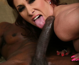 Redhead of age Tiffany Mynx shows the brush fat juggs and gets rammed by a BBC