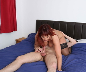 British Suitor Diamonds delights almost getting her aging pussy eaten at the end of one\'s tether her trinket boy