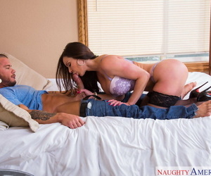 Fetching MILF Kendra Have one\'s heart set on gets will not hear of hot pussy fucked in doggystyle & cowgirl
