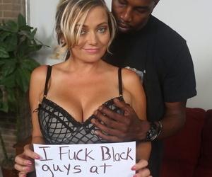 Mesmerizing Lexxi Lash gets nailed in hardcore fashion by a black dude