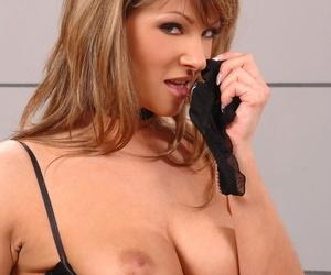 DDF Busty Caroline Cage- Dorothy Black