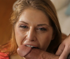 American lady Fallon West pleasures her stepsons large penis for him
