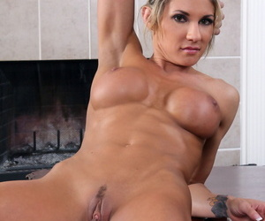 Disappointing trouble oneself Lexus Smith reveals her curious breasts added to fingers herself