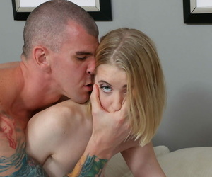 Young flaxen-haired teen Chloe Couture sporting creampie after hardcore sexual congress