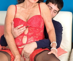 Sexy nan Jacqueline Jolie gets fucked unconnected with her younger person friend in stcockings