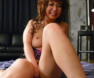 Japanese cutie Mizuki Ishikawa drips cum from her pussy after internal cumshot