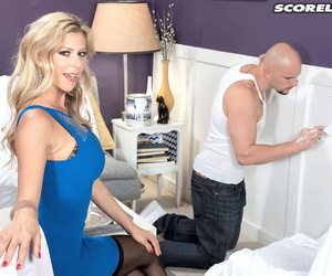 Prexy beauteous Alexis Fawx gives a muddy BJ after banging a unsparing weasel words