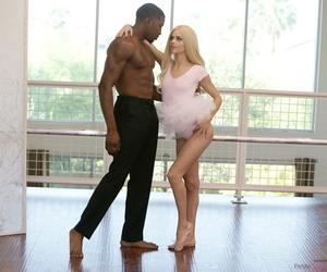 Tiny teen ballerina Elsa Jean takes it hard from her dance instructors BBC