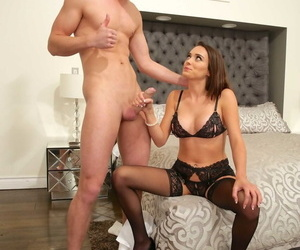White female Ashly Anderson and her ex get together for a final fuck