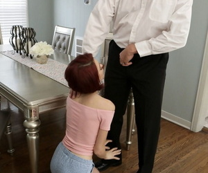 Black man doesnt now his white friend loves to fuck own stepdaughter Lola Fae