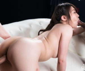 Taking Japanese main takes a creampie in the long run b for a long time riding on high summit a cock