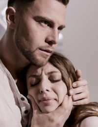 Bad teen girl Gia Derza is forced into being throated by her stepbrother