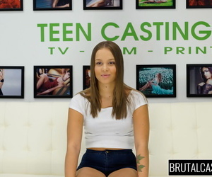Girl next door Liza Rowe finds herself engaged in BDSM on casting couch