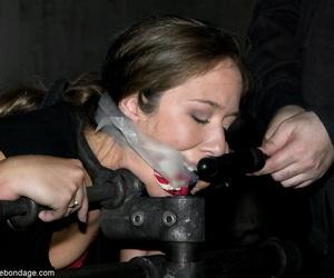 Device Bondage Claire Adams- Gouge out Marxxx- Sarah Jane Ceylon