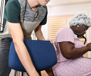 Hyacinthine Noemie Bilas & busty granny Exhort DAngelo get fucked away from a sultry guy