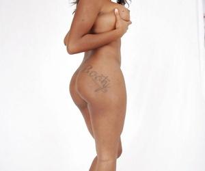 Hot black girl Candice Nicole sucks and fucks a large dick in POV mode