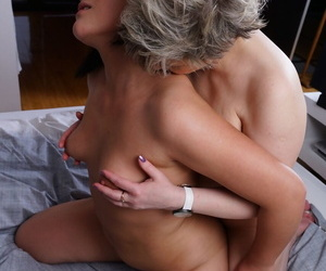 Old & young European lesbians kiss & pack vanguard licking till the end of time others pussies