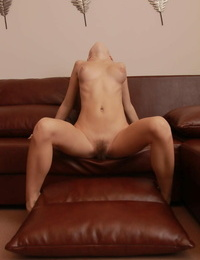 European glamour girl Milena D showing off her hairy natural body parts