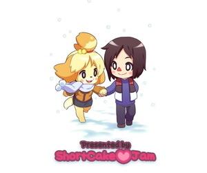 Shortcake Jam NeoPop- Rinfu- Pitaya Belles Love Vacation! Animal Crossing English Colorized