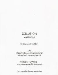 C95 Kajou Housou Waremono DELUSION NEW GAME!