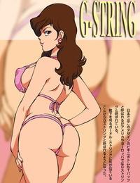 Macaroni Ring Ankokudou Shinkaigyo- Kugayama Hodai Fujiko no Eromizugi Catalog Lupin III
