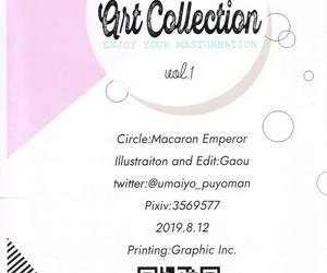 C96 Makarontaitei Gaou FANBOX Art Collection Vol.1