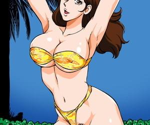 Macaroni Ring Liveis Watanabe Eromizugi! Vol. 4 Mine Fujiko Lupin III