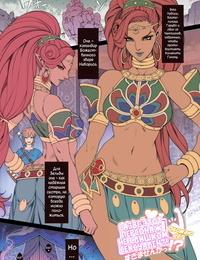 Oda non Rakugaki Ero Manga- Breath of the Wild no Urbosa-sama! Russian Илион Decensored