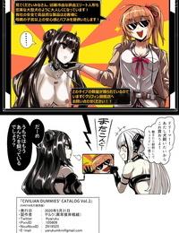 Ijou Higan Sensen Yaruku CIVILIAN DUMMIES CATALOG vol.2 Girls Frontline