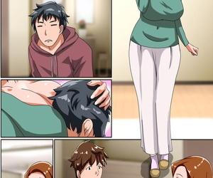 Hamasei Tetsukui Inran Bitch na Kaa-san. Musuko no Tomodachi o Yuuwaku shite Hamatta Saki wa - part 2