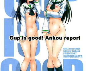 COMIC1☆13 Kamogawaya Kamogawa Tanuki Gup is good! Ankou report Girls und Panzer English Doujins.com - part 2