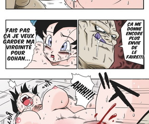 Yamamoto Videl vs Spopovich Dragon Ball Z French Colorized
