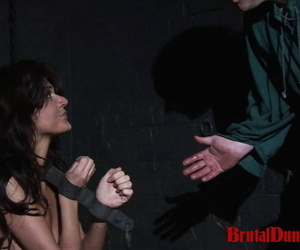 The beautiful brunette fortune teller janessa has been observed - part 1118
