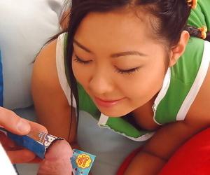 Lollipop lovin asian style! - part 991
