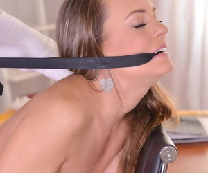 Naughty schoolgirl blue benefactor gets spanked and dicked by a principle - affixing 804
