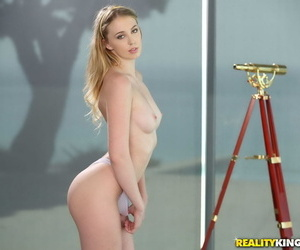 Off colour tiny chloe scott with certain body - fastening 118