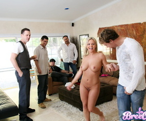 Bree olson fucking added to sucking group be advisable for sizzling guys - fastening 321