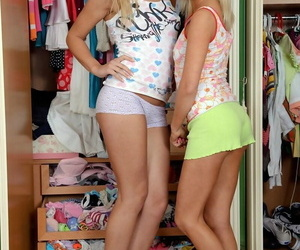 Young attractive teens fucked doggystyle with an increment of cumswapping - loyalty 470