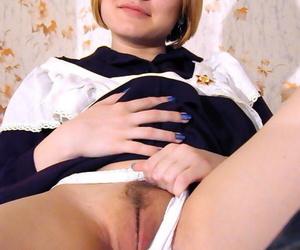 Russian schoolgirl teasing - loyalty 307