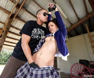 Schoolgirl jaye summers chained and fucked hard - part 598