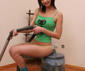 Seductive teen housemaid - part 308