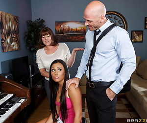 Piano teacher pumps gianna and the brush shaved clam after a sheer sonnet - part 250